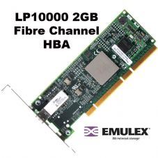 Emulex LP10000-E 2Gb PCI-X 64bit 133MHz Fibre Channel Adapter Network Card